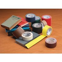 Vinyl Coated Cloth Book Spine Repair Tape 12 mil thickness