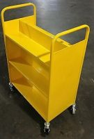 Economical Steel Book Trolley 6 Sloping 15PMT317-6SM
