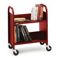 Economical Desk Side Book Trolley 15PMT324-6176