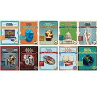 Dewey Vintage Mini Poster Set. PD136-3599