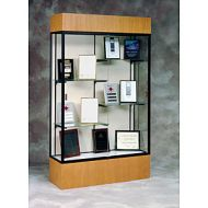 Glass Display Case Standard Wood Base