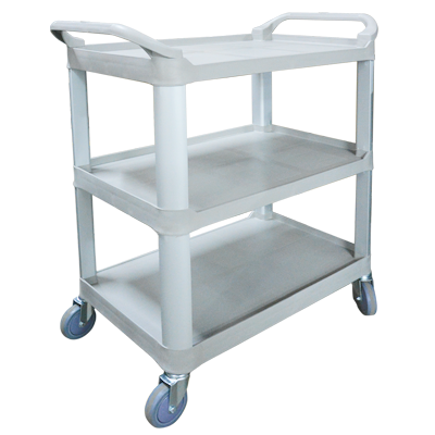 Economy Large Plastic 3 Level Utility Cart 17PMTAMK-1183