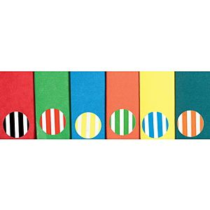 Striped Colour Dot