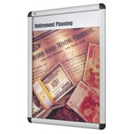 Clip Frame Poster Sign Holder in A4 Size. PD136-2324