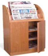 Newspaper Display Cabinet with Door 16PMT840-7952