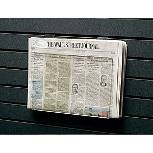 Acrylic Slatwall Newspaper Holder PD127-5418