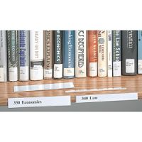 Adhesive Shelf Label Holder 3/4
