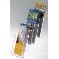 Table Top Pamphlet Holder Triflod size. 6PMTC18-D