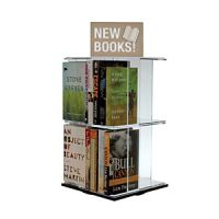 Tabletop Acrylic Book & DVD Display PD136-0385