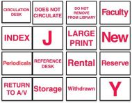 Circulation Classification Labels 3/4