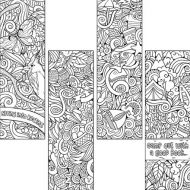 Coloring Bookmarks Activity Pack