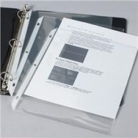 Three Ring Topper Sheet Protectors. PB131-62001