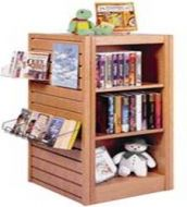 Four Side New Arrivals Compact Display Rack