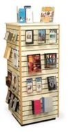 Four Side Slatwall New Arrivals Display Tower 13PMTB688-962