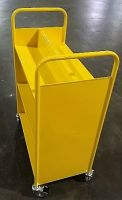 Economical Steel Book Trolley 6 Slopping Extra Height. 15PMT317-6SH