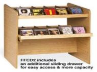 Classic single side CD Flipper Rack- 2 tiers. 12PMTB677-60751S2
