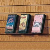 Slatwall DVD & Book Holder. PD148-7108