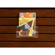 Slatwall Large Acrylic Book Display PD137-9041
