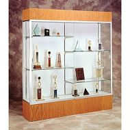 Exhibit Display Glass Cabinet- Extra Wide