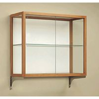 Wall Mount Glass Cases. 16PMT847-9348