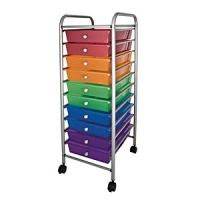 Mobile Storage Carts 10 Tubs. PD149-7708