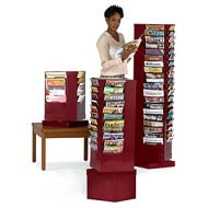 Con-tur Rotary Magazine Literature Rack 20 Pockets. PD141-9864