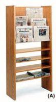 Newspaper Display Rack Compact Design 9PMT647-9806