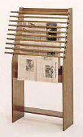 Classic Newspaper Display Rack. 11PMT588-9806
