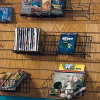 Wire Slatwall Medium Straight Shelf