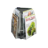 Revolving Table Top Magazine Display 6 Pocket. PD149-9521
