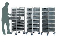 Professional 6 Level Drawer Trolley. PMTRS877-6809