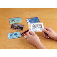Clear ID Card Sleeves. PD204-0195
