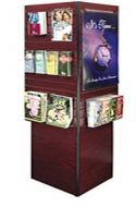Information Kiosk with Slatwall and Softboard. 14PMT537-2947