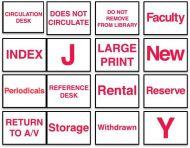 Circulation Classification Labels 3/4