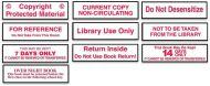 Circulation Classification Economical Labels 3/4