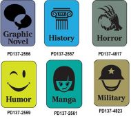 Silhouette Genre Subject Classification Labels G to M