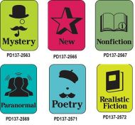 Silhouette Genre Subject Classification Labels M to R