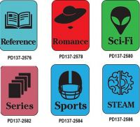 Silhouette Genre Subject Classification Labels R to S